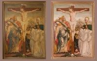 B. Oldoni - Crocifissione con le Marie, Santa Marta e confratelli